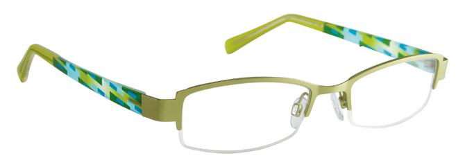 Lime Green Eyeglass Frames : Great savings on FYSH UK Eyeglasses FYSH 3390 - SunOptique.com