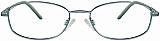 David Benjamin Eyeglasses Brassy