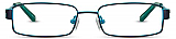 David Benjamin 4 Kids Eyeglasses Pinstripe