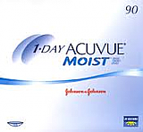 1-Day Acuvue Moist 90 Pack By Johnson and Johnson