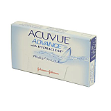 ACUVUE ADVANCE  By Johnson & Johnson