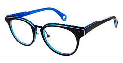 d488a4efc85 Betsey Johnson Eyeglasses 164 Luscious Lennon